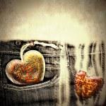 Love grunge background — Stock Photo #42953369