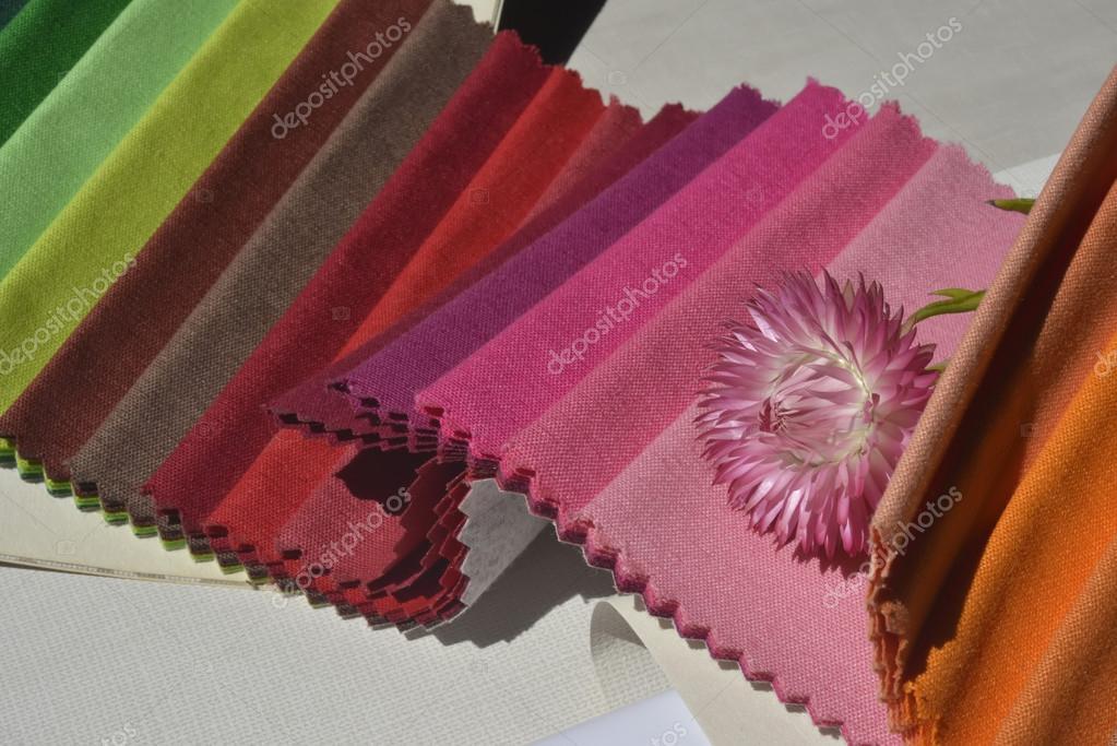Muestras de tejidos para la decoraci n del hogar foto de for Tejidos decoracion hogar
