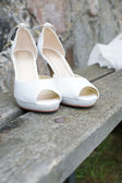 Wedding shoes — Stockfoto