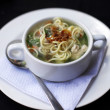 Chicken noodle soup — Stock Photo #12696207