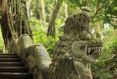 Ancient stone sculpture — Stock Photo