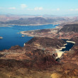 Aerial view of Hoover Dam — Stock Photo #13295894