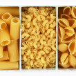 Collection of italian pasta — Stok fotoğraf