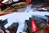 时报广场。纽约城 — 图库照片