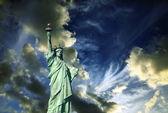 Statue-of-liberty — Stockfoto