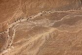 Desert the top view — Stock Photo