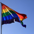 Rainbow flag — Stock Photo