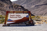 Death Valley Gate — Stock Photo