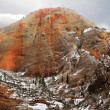 Red Rock Formations - Stock Photo