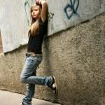 The girl - teenager — Stock Photo #18934931