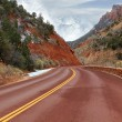 Zion National Par - Stock Photo