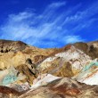 Color mountains of Death valley — Foto Stock