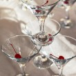 Glasses of martini - Stock Photo