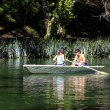 Royalty-Free Stock Photo: Couple in boat