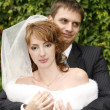 Newly married pair — Stockfoto