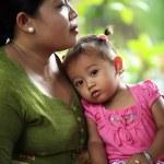 matka z dzieckiem — Zdjęcie stockowe