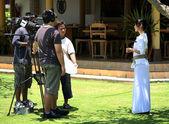 Journalistes de télévision — Photo