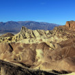Zabriske Point - Stock Photo