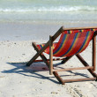 Royalty-Free Stock Photo: Chaise lounge on a beach