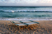 Barbados beach — Stock Photo