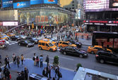 Náměstí Times square. New york city — Stock fotografie