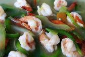 酱汁虾 — 图库照片