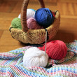 Stock Photo: Needlework accessories