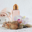 Stock Photo: Bodycare products