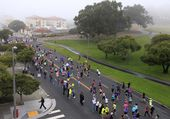 Women's Marathon — Stock Photo