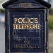 Stock Photo: Police Phone