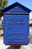 Police Phone — Stock Photo