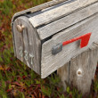 Stock Photo: Old mailbox