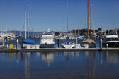 California yacht harbor — Stock Photo