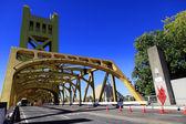 Golden Tower Bridge — Stock Photo