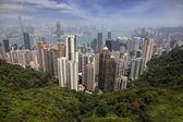 Panorama hong kongu — Stock fotografie
