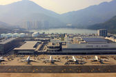 Hong Kong Airport — Stockfoto