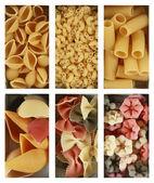 Heaps of pasta — Stock Photo