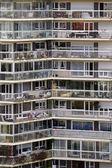 Apartment block in Paris — Stock Photo