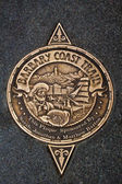 Sign of Barbary Coast Trail in San Francisco — Stock Photo
