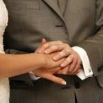 新たに結婚したペア — ストック写真 #6206326