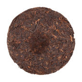 Disque de thé puer — Photo