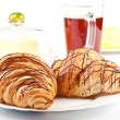 French Breakfast — Stock Photo
