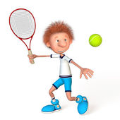 Tennis for all. — Stock Photo