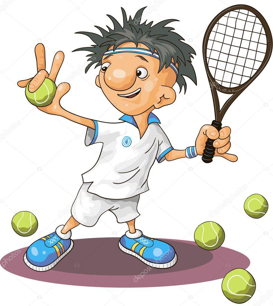 网球— 图库矢量图片 #6483893