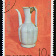 NORTH KOREA - CIRCA 1977: A stamp printed in DPR Korea shows Chinese porcelain jar, circa 1977 — Stock Photo #11969581