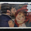 UNITED KINGDOM - CIRCA 2005: A stamp printed in Great Britain shows 'La Danse a la Campagne' by Renoir, circa 2005 — Stock Photo #12129827