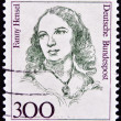 GERMANY - CIRCA 1989: A stamp printed in Germany shows Fanny Hensel, Composer, Conductor, circa 1989 — Stock Photo