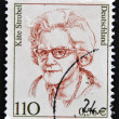 Stock Photo: GERMANY - CIRC2000: stamp printed in Germany shows Kate Strobel, politician, circ2000.
