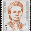 GERMANY - CIRCA 1989: A stamp printed in  Germany shows Emma Ihrer, trade unionist, circa 1989 — Stock Photo