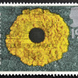 Stamp printed in Great Britain shows Dandelions, springtime — Stock Photo #12429384